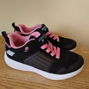 Skechers Kids Dyna-Lights Sneakers Black/Pink size 13